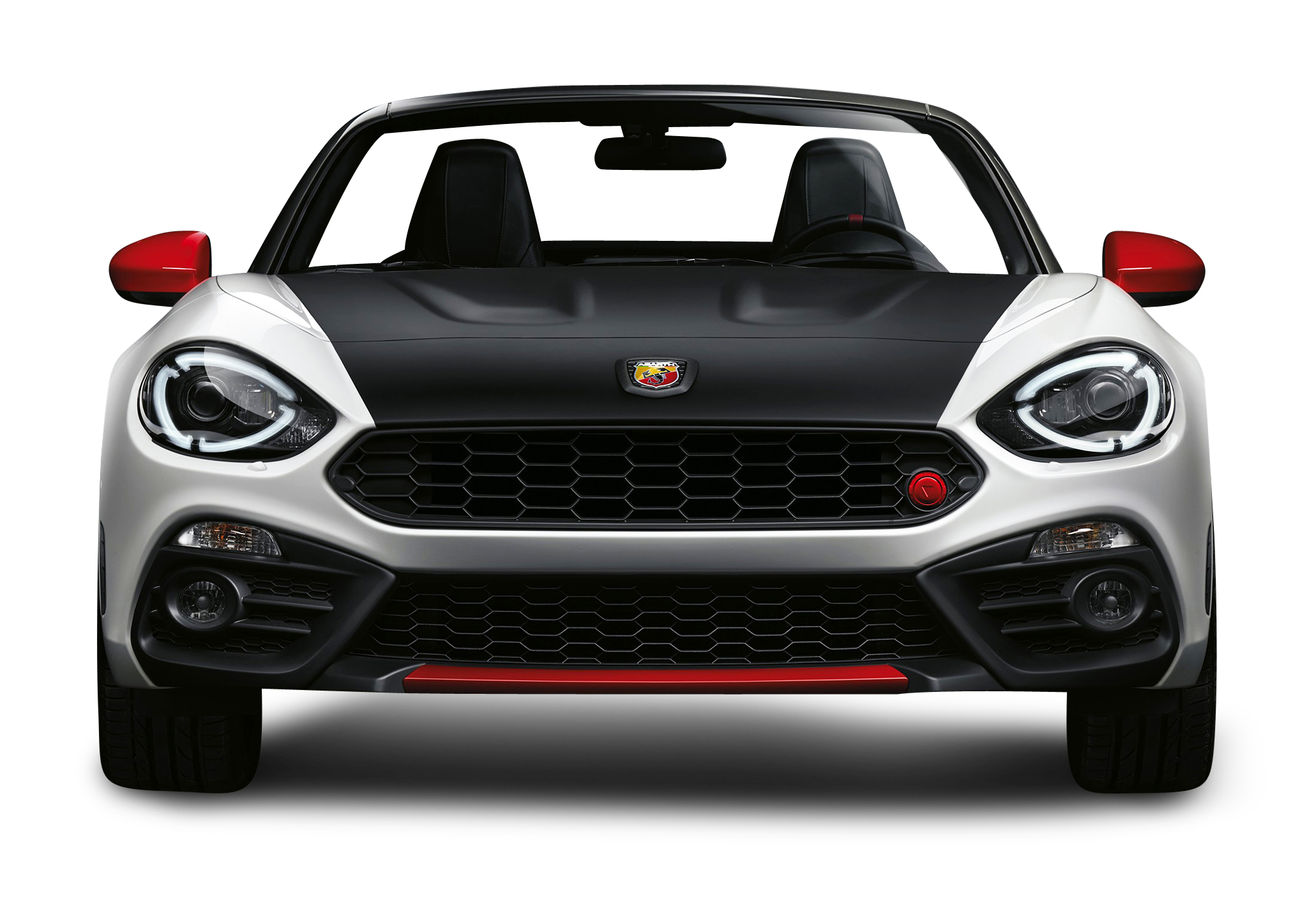 pngpix-com-black-and-white-fiat-124-spider-abarth-front-view-car-png-image